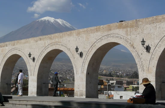 City Tour Arequipa <span>half day <br> am / pm</span>